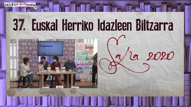 IDAZLEEN BILTZARRA 2020 Euskal Herriko hiriburuen gida-liburuak