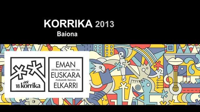 Korrika 2013 Baiona