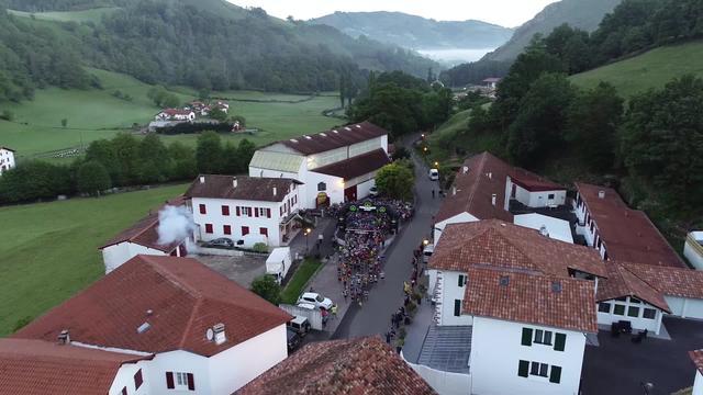 EUSKAL TRAILS 2019 - 2x40km-en abiatzea zerutik