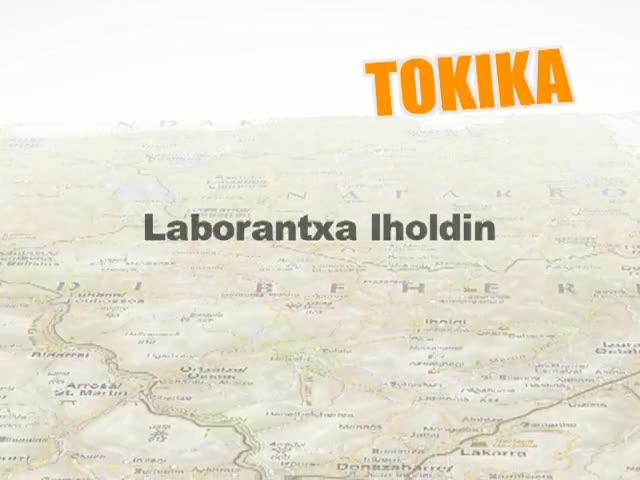 Laborantxa Iholdin