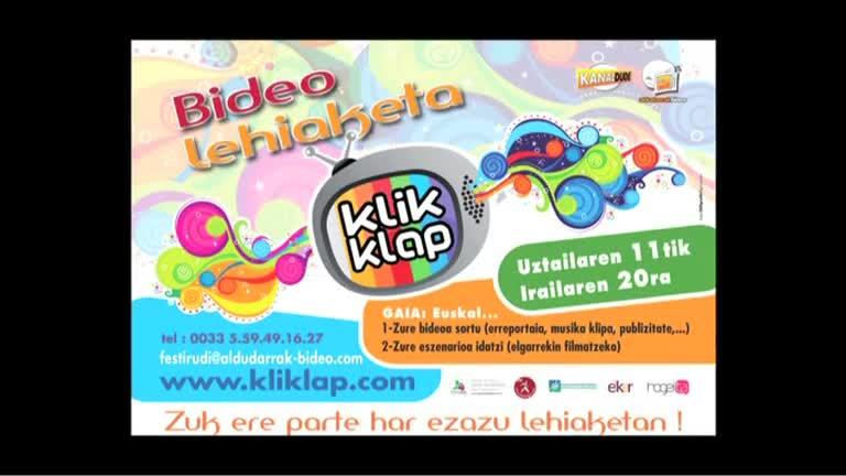 KLIKLAP 2011 teaser : gure aholkuak !