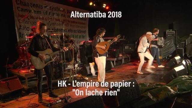 "Alternatiba 2018: HK ""On lâche rien"""