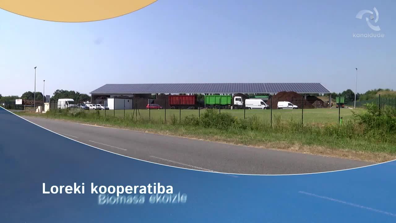 Loreki kooperatiba Biomasa ekoizle