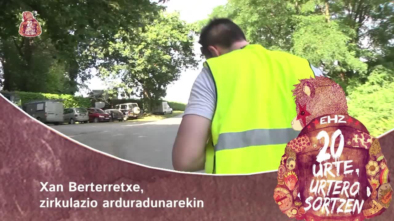 EHZ 2015: Xan Berterretxe, zirkulazio arduradunarekin