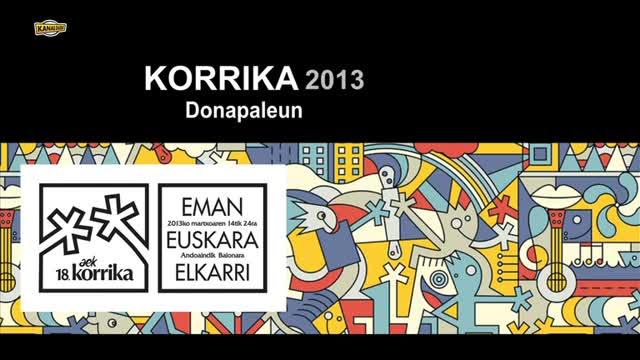 KORRIKA 2013: Donapaule