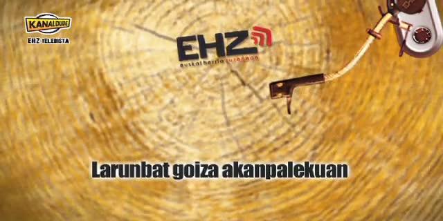 EHZ 2012 : Larunbat goizean akanpalekuan