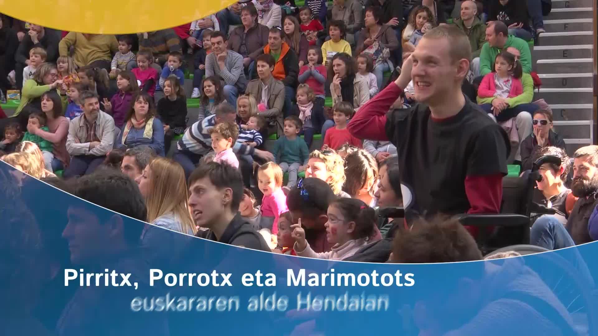 Pirritx, Porrotx eta Marimotots euskararen alde Hendaian
