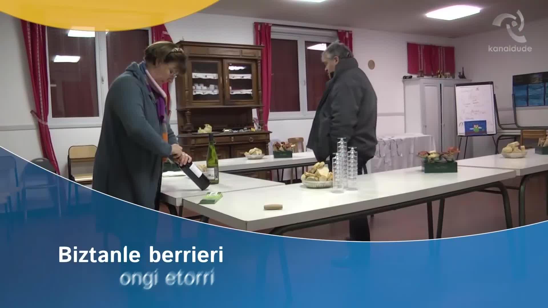AIBA: Biztanle berrieri ongi etorri