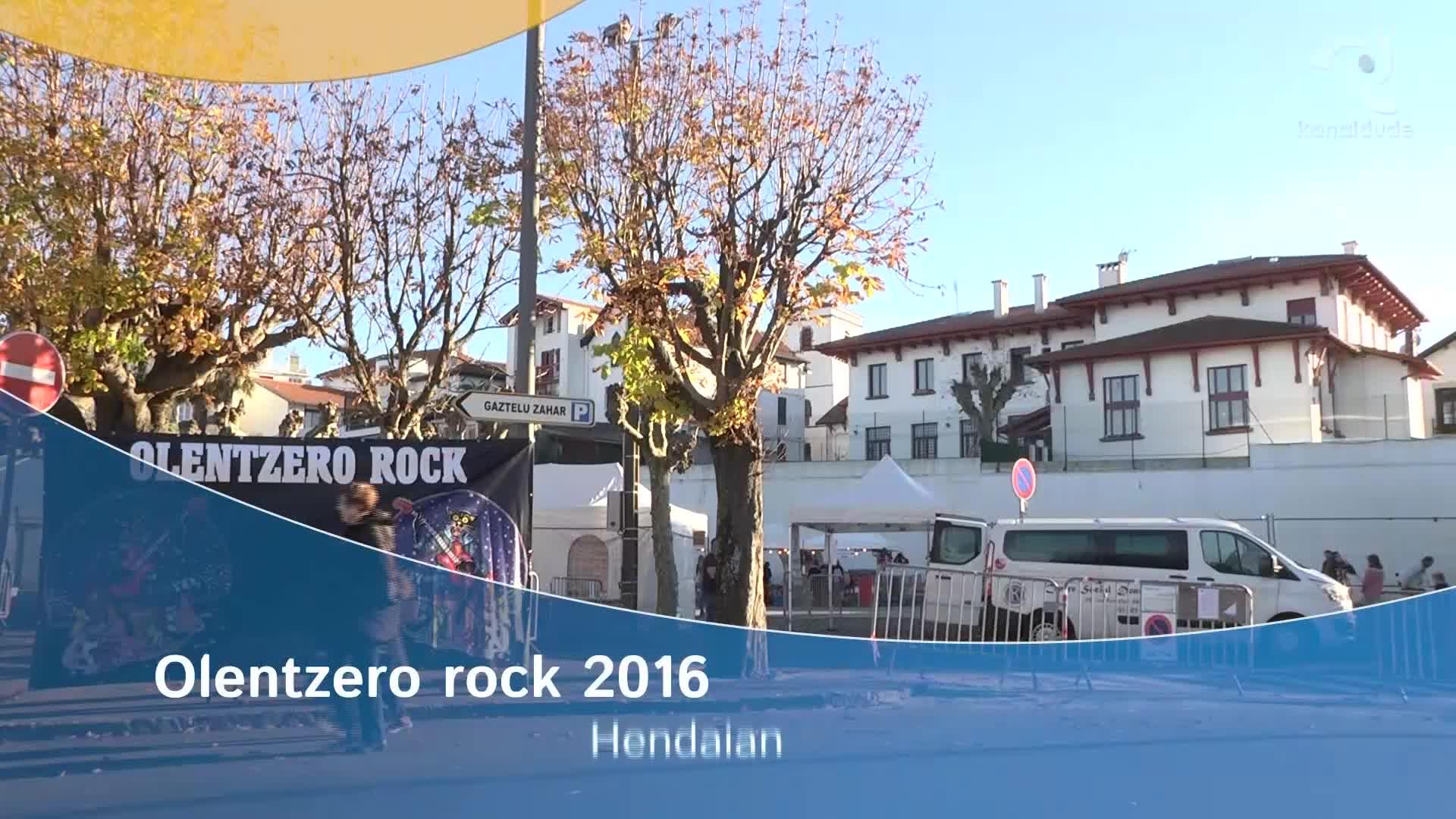 Olentzero rock 2016 Hendaian