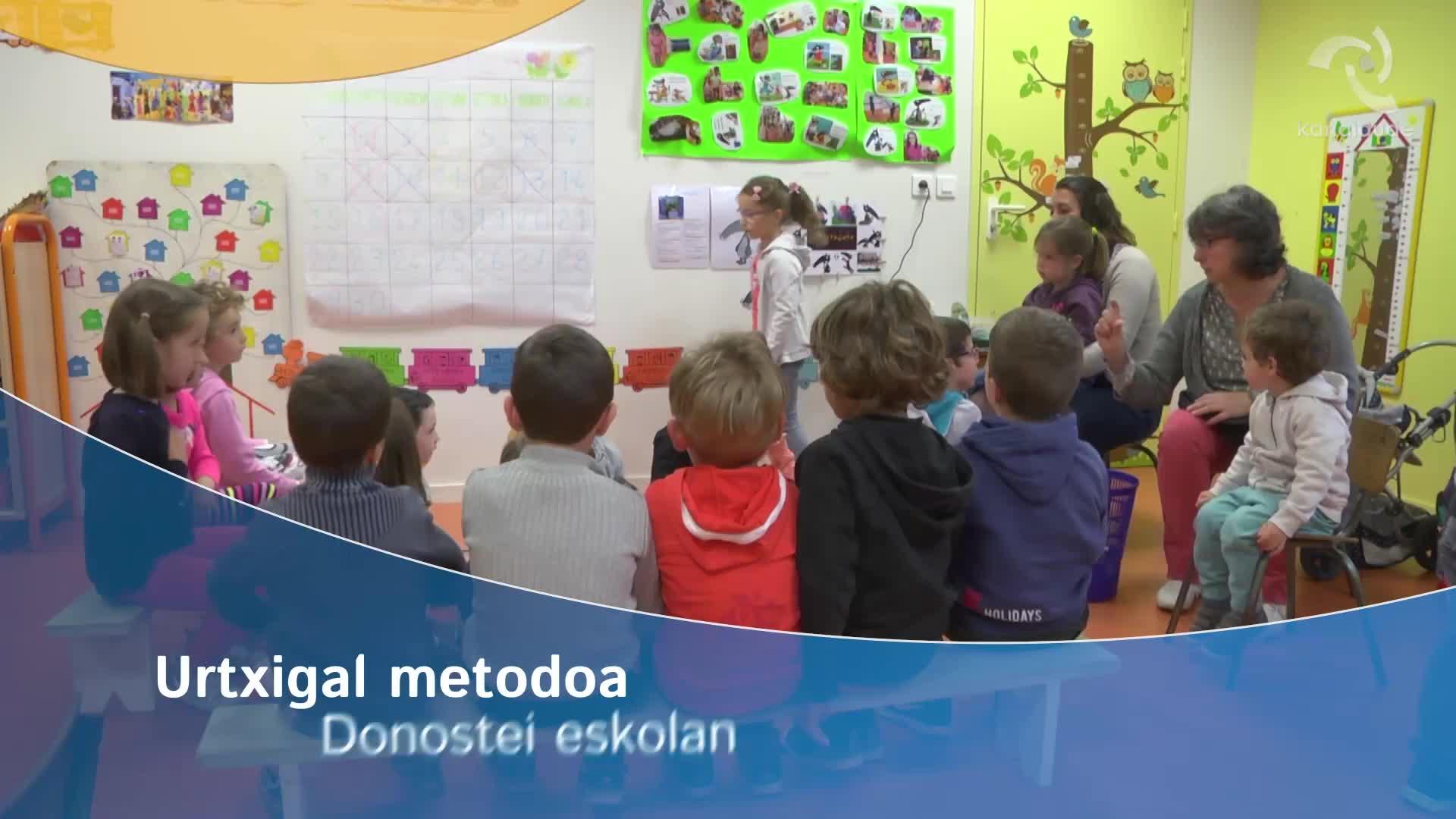 Urtxigal metodoa Donostei eskolan