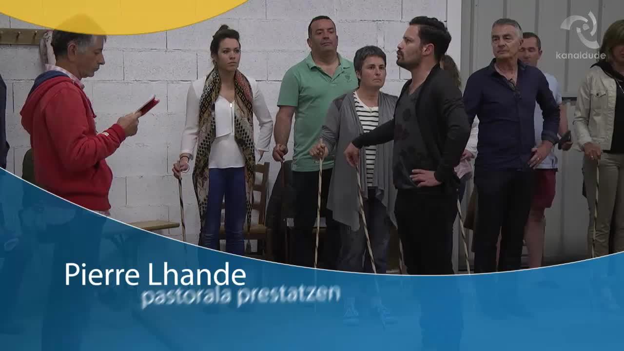 Pierre Lhande pastorala prestatzen