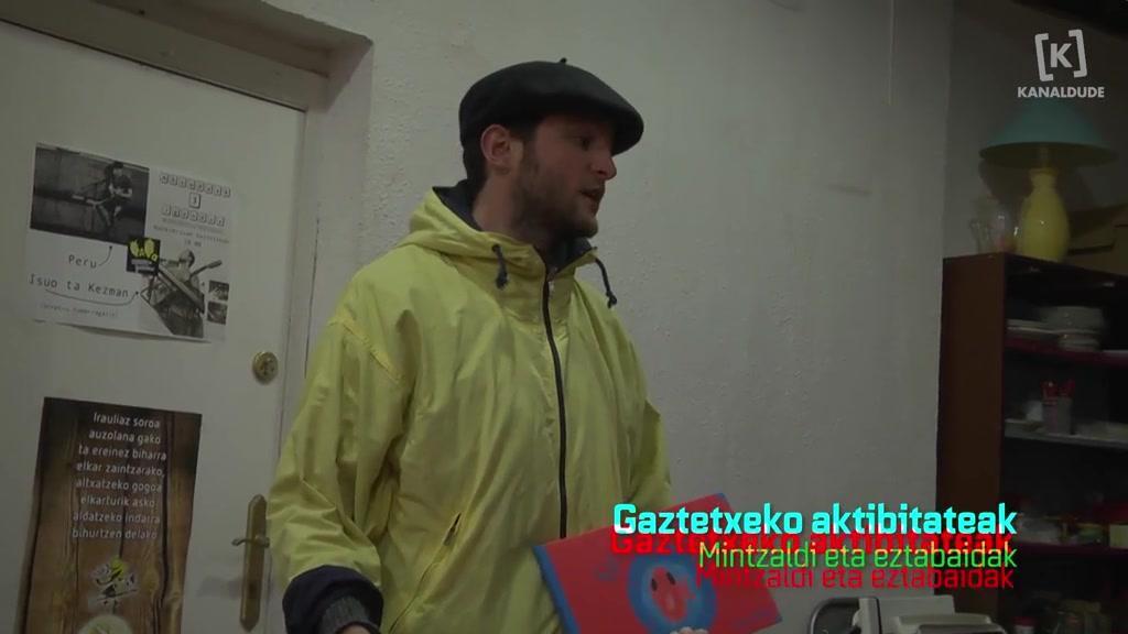 ZZE7 - Garaziko Gaztetxeko aktibitateak