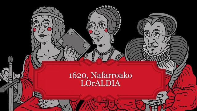 1620, Nafarroako LOrALDIA sar-hitzak