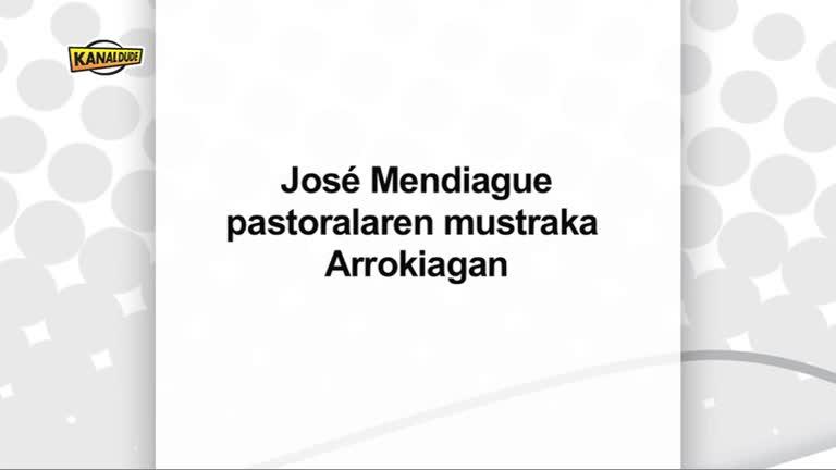 Jose Mendiague Pastorala : mustraka