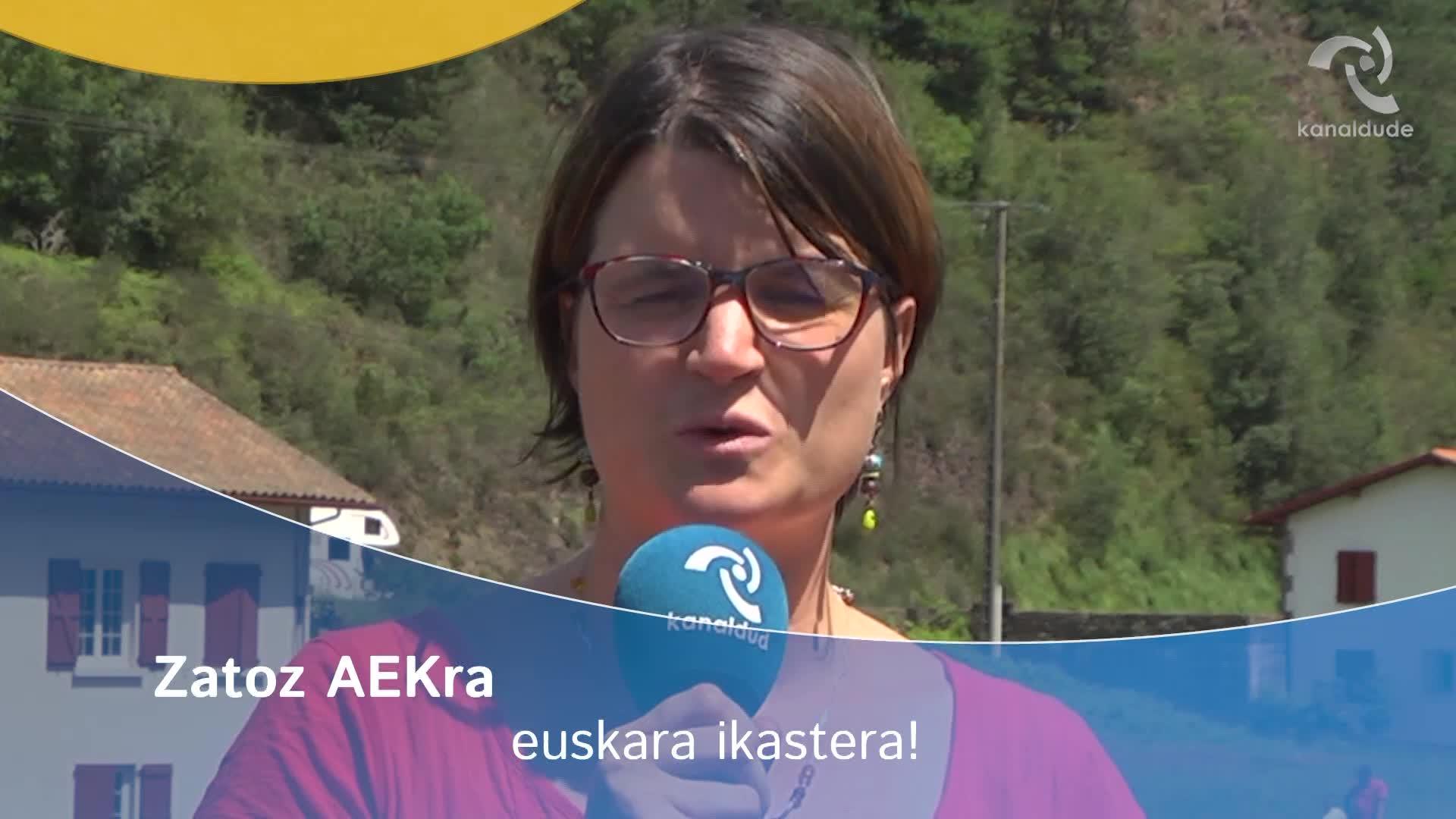 Zatoz AEKra euskara ikastera!