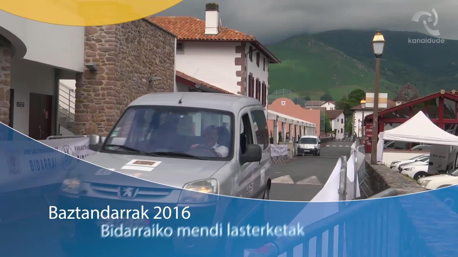Baztandarrak 2016: Bidarraiko mendi lasterketa