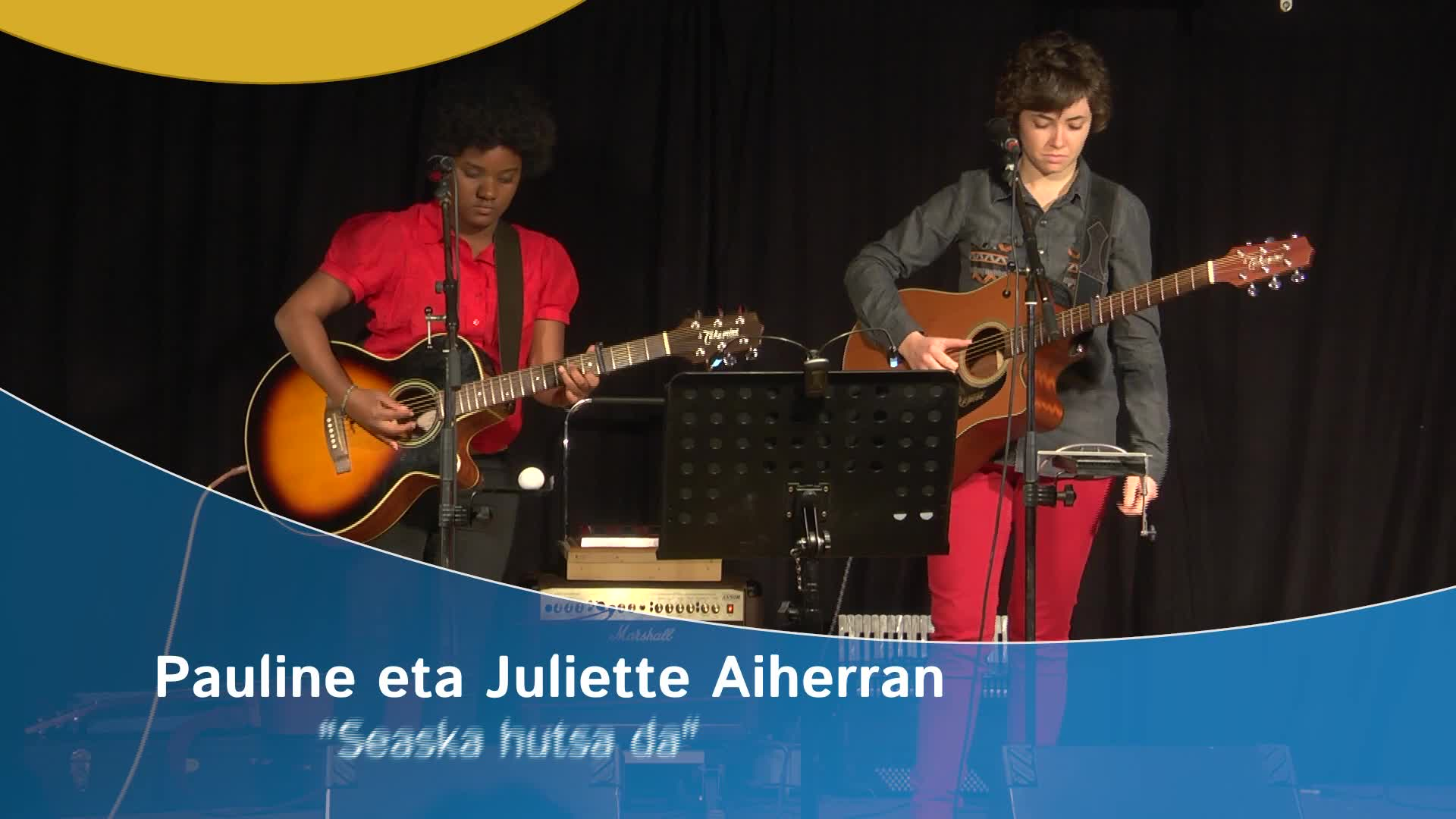 """Pauline eta Juliette Aiherran: """"Seaska hutsa da"""""""
