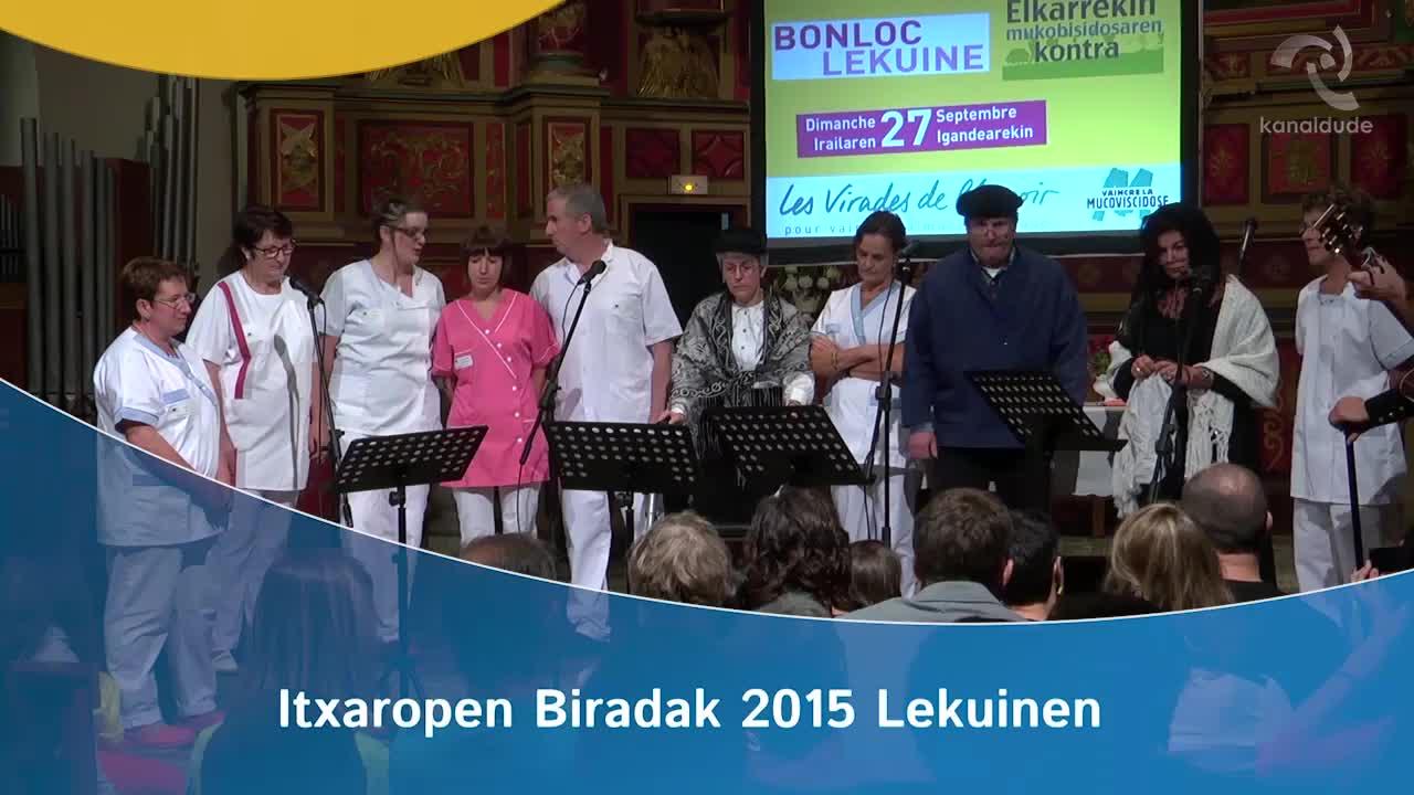 Itxaropen biradak 2015: Isturitzeko zahar etxeko taldea