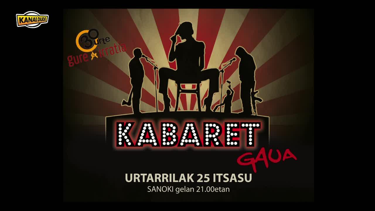 Bertsu eta kantu, Gure Irratiak Itsasuko Sanoki gelan antolatu kabaret gaualdian, Ortzi eta Joanes b...