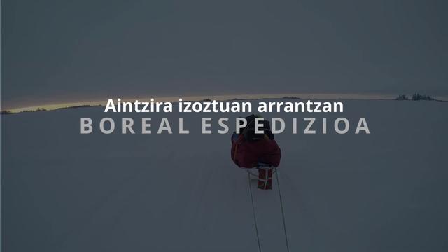 Boreal Espedizioa - Aintzira izoztuan arrantzan