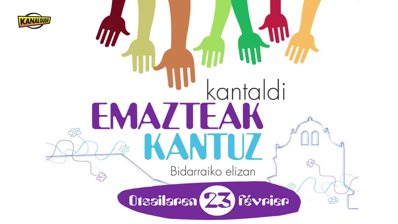 """""""Emazteak kantuz"""" kantaldia: Estibaliz Asua """"Amaren bularra"""""""