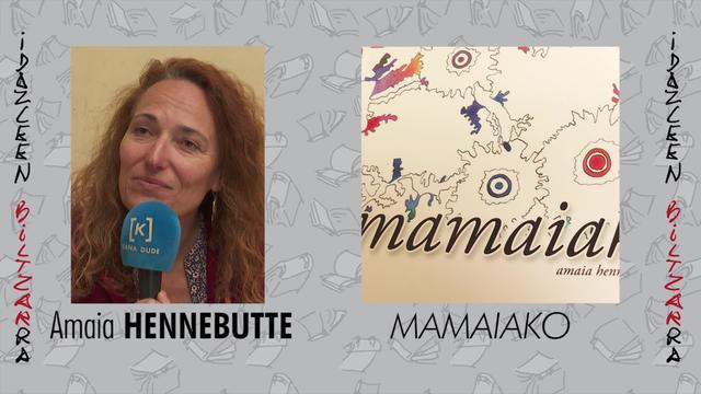 Idazleen Biltzarra 2019 - Amaia Hennebutte - Mamaiako