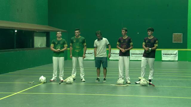 XARE FINALA:  J.Arrizabalaga/G.Becaas VS M.Borteyru/T.Regerat