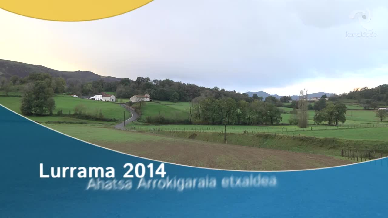 LURRAMA 2014 Arrokigaraia etxaldea