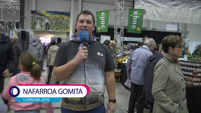 Lurrama 2019 Nafarroa gomita