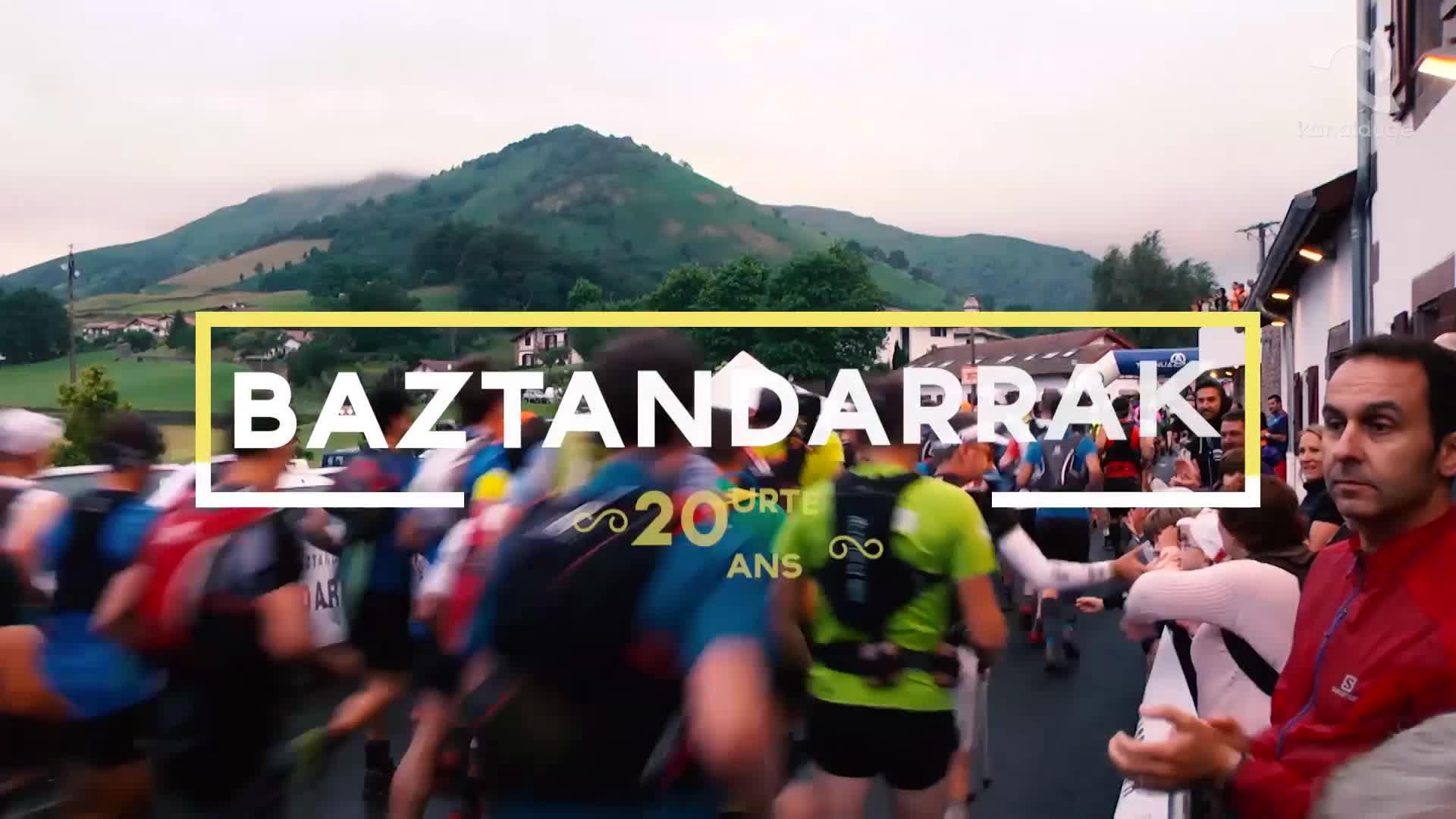 Baztandarrak 2017 mendi lasterkaldiak