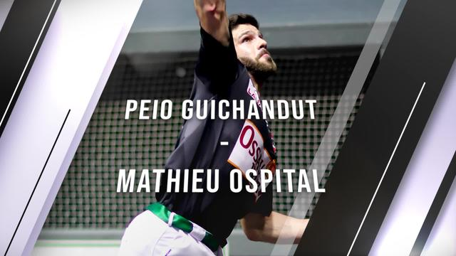 Eskulari Pro 2020 - Final laurdenak : Peio Guichandut VS Mathieu Ospital