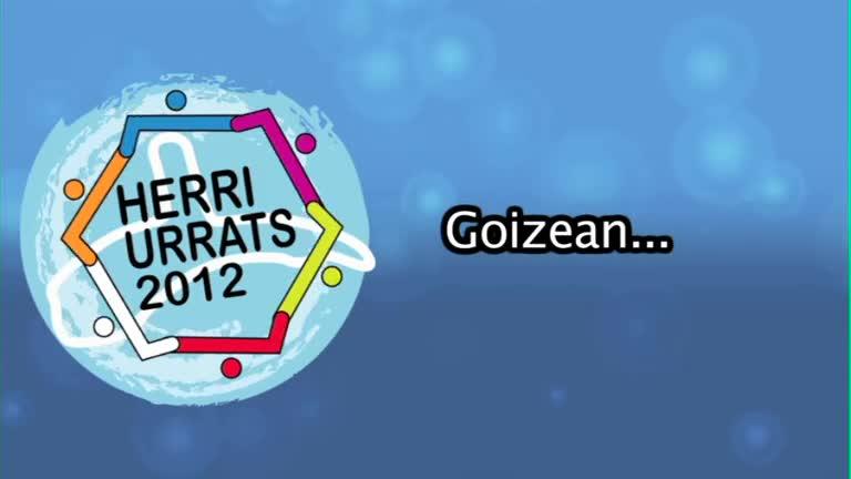 HERRI URRATS 2012 Goizetik lanean