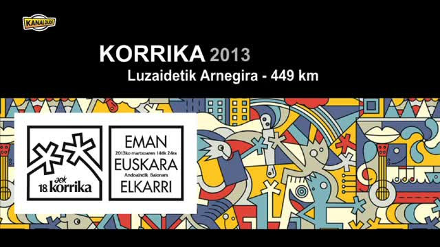 KORRIKA 2013: KM 449 Luzaidetik Arnegira
