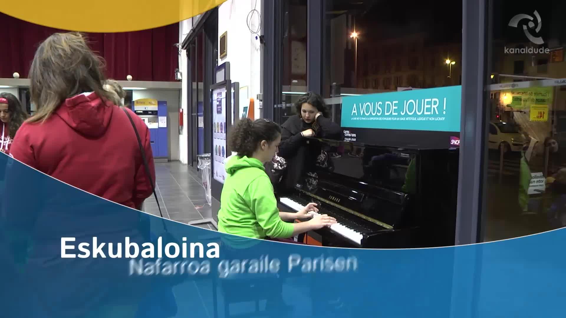 Eskubaloina Nafarroa garaile Parisen