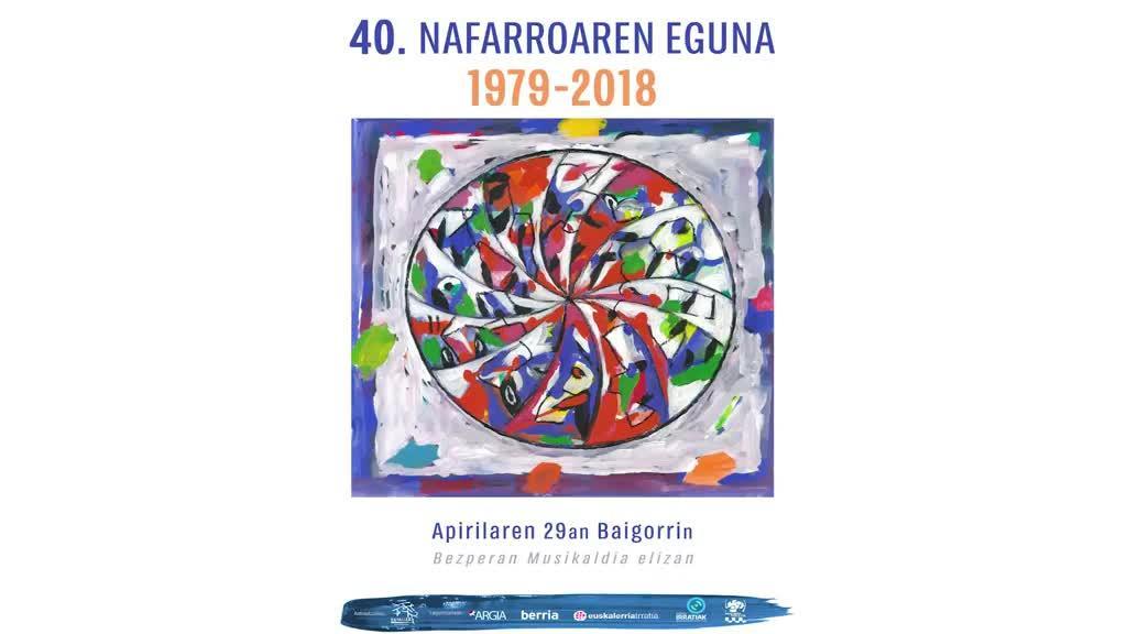Nafarroaren Eguna 2018 | Ekitaldiaren zuzenezkoa