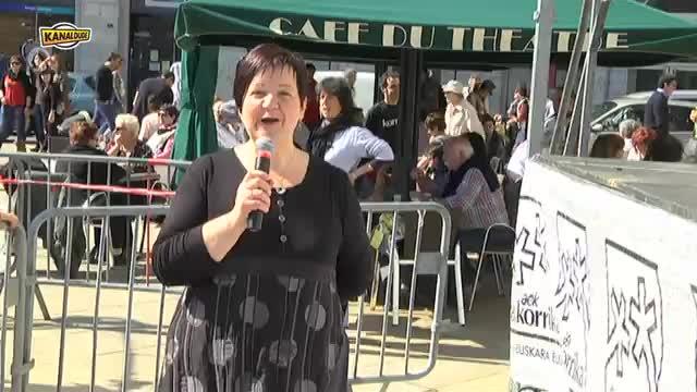 Korrika 2013: Baionatik Zuzenean Maite Davant