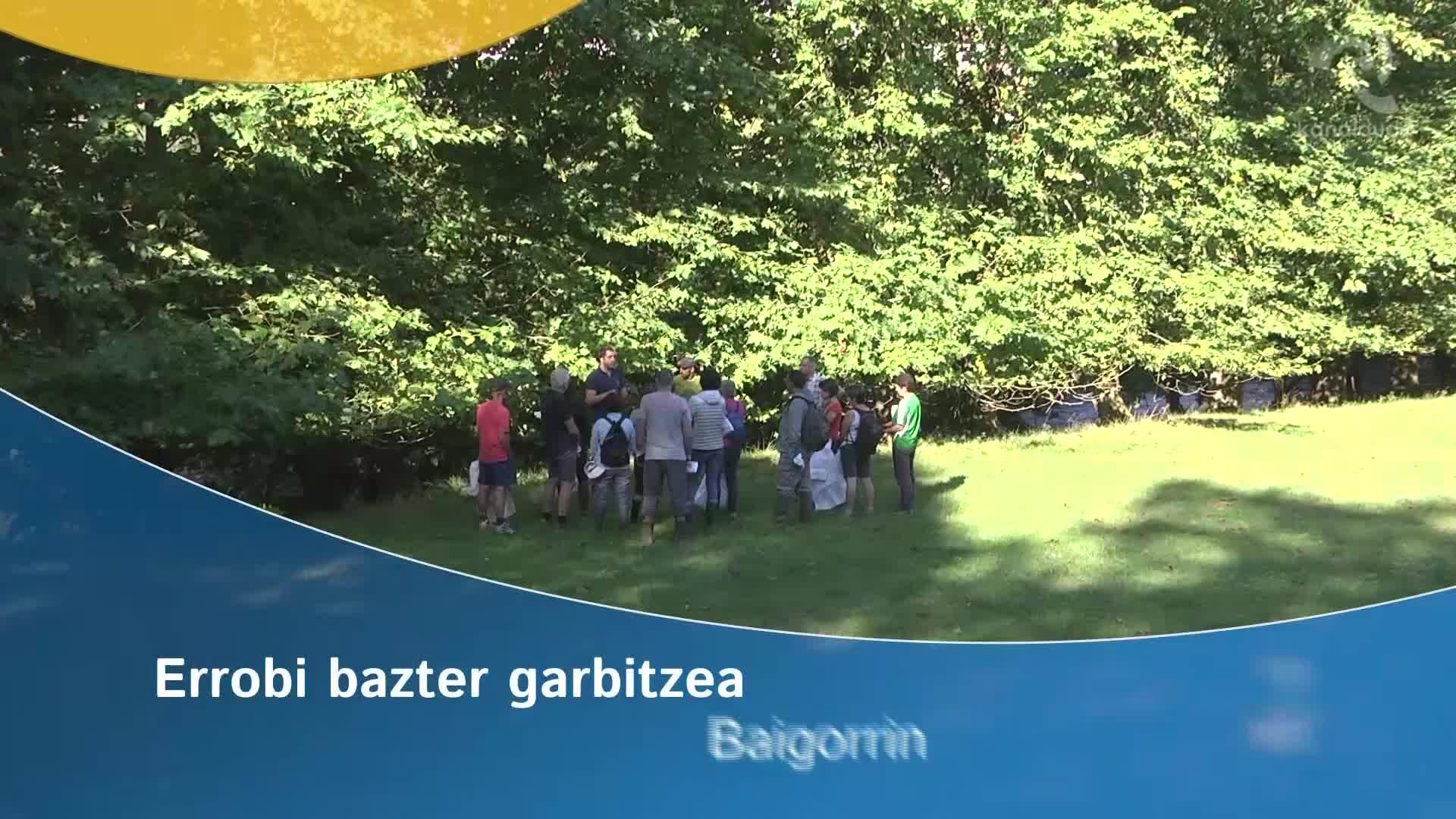Errobi bazter garbitzea Baigorrin