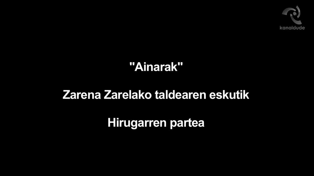 """""""Ainarak"""": Zarena Zarelako"""
