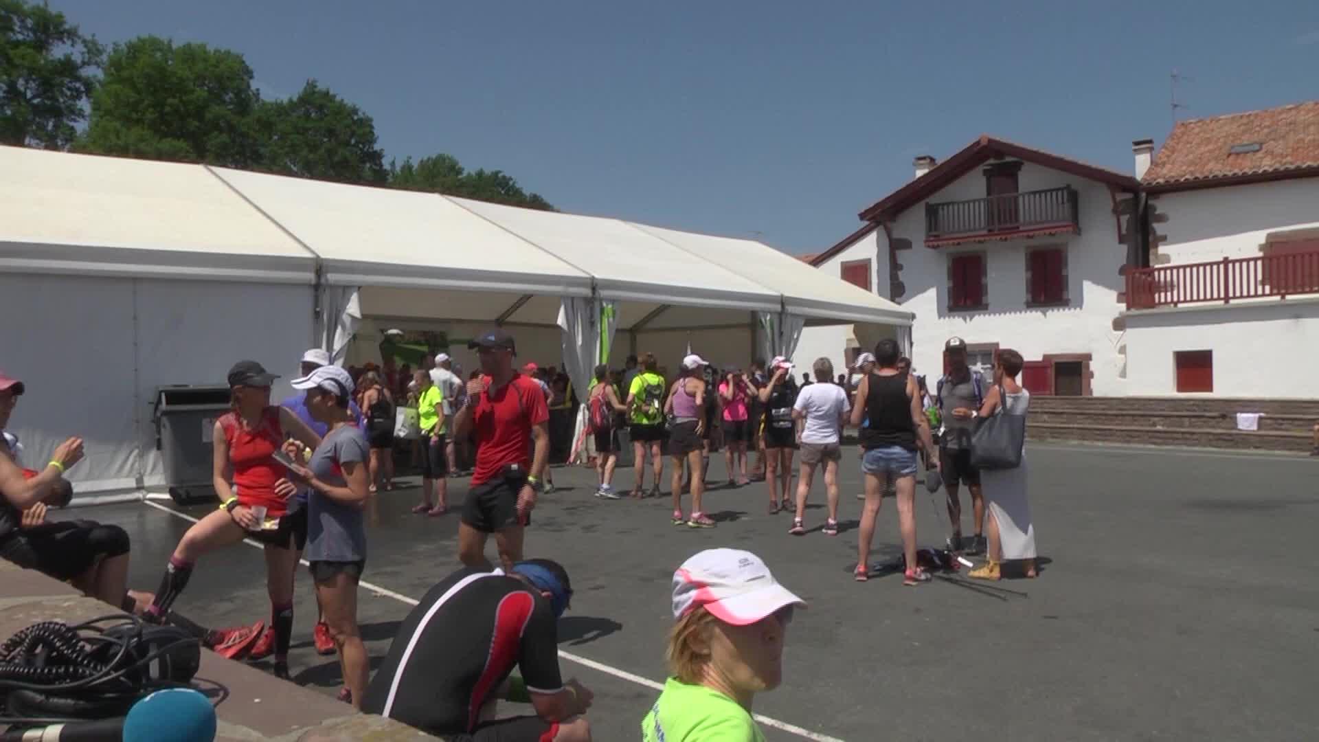 Euskal Trail 2017: kinesiterapeutak korrikalarien zauriak eztitzen