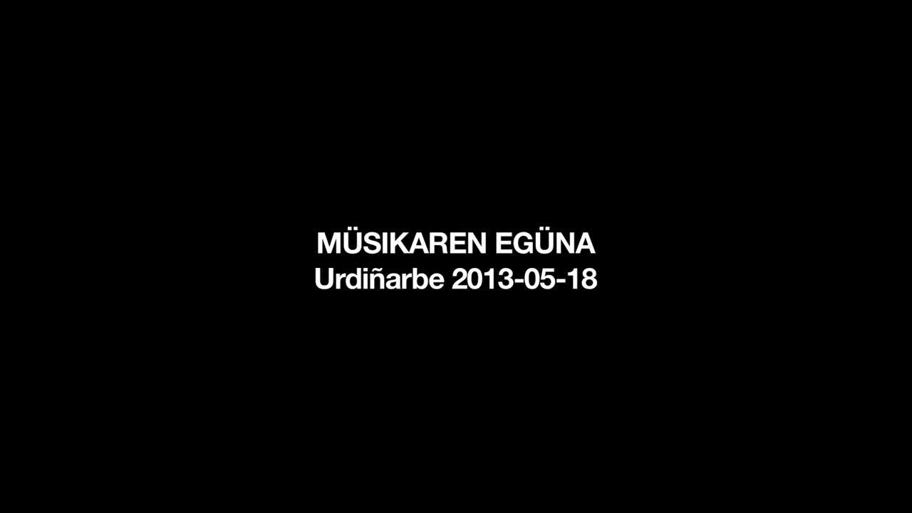 Musikaren eguna 2014: egitaraua