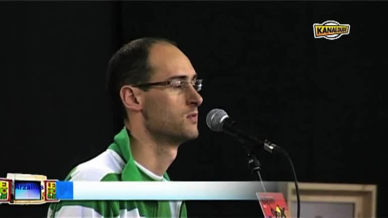 XILABA 2010 : Buruz buruko partean, kartzela, Amets Arzallus
