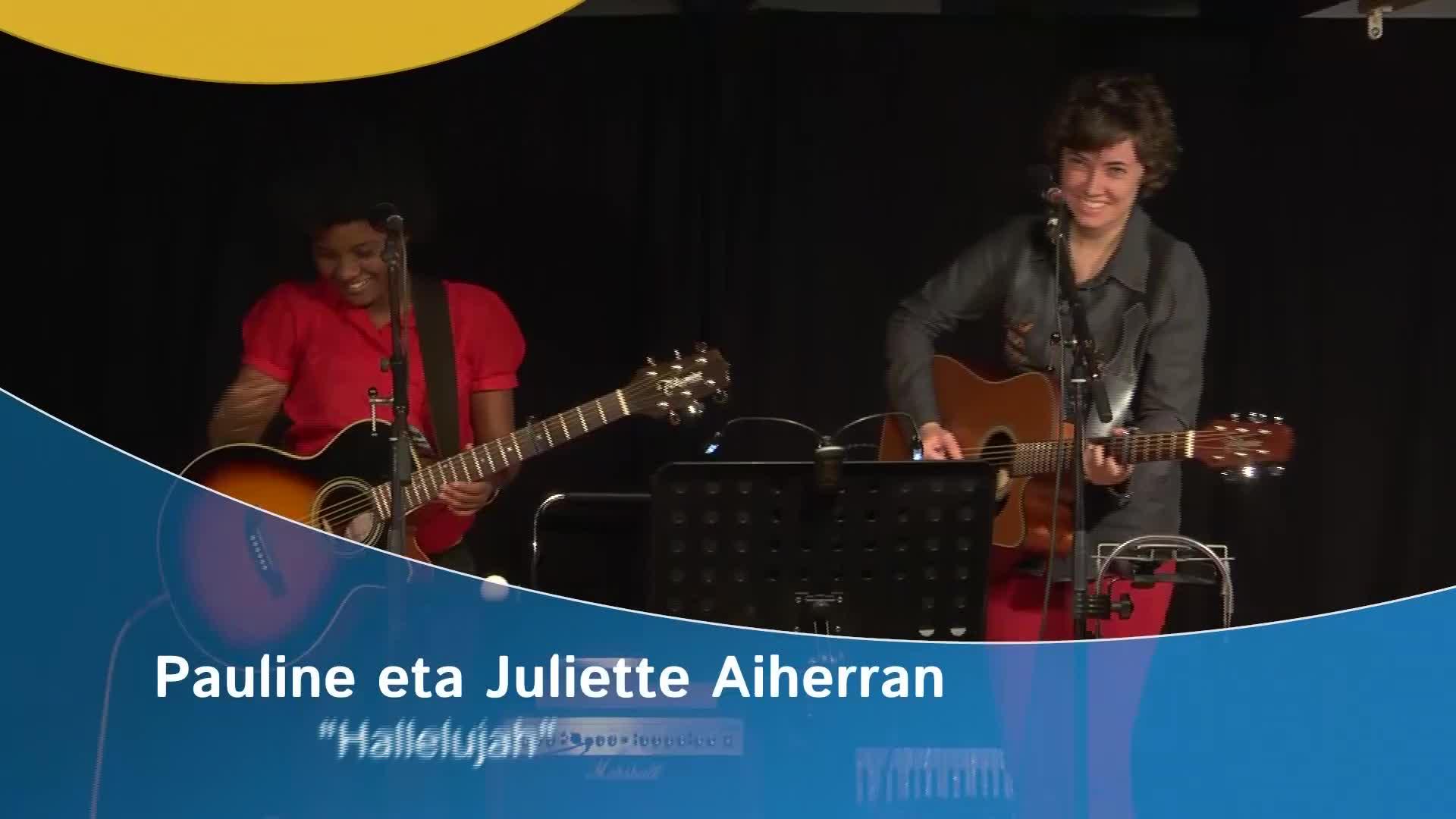"""Pauline eta Juliette Aiherran """"Hallelujah"""""""