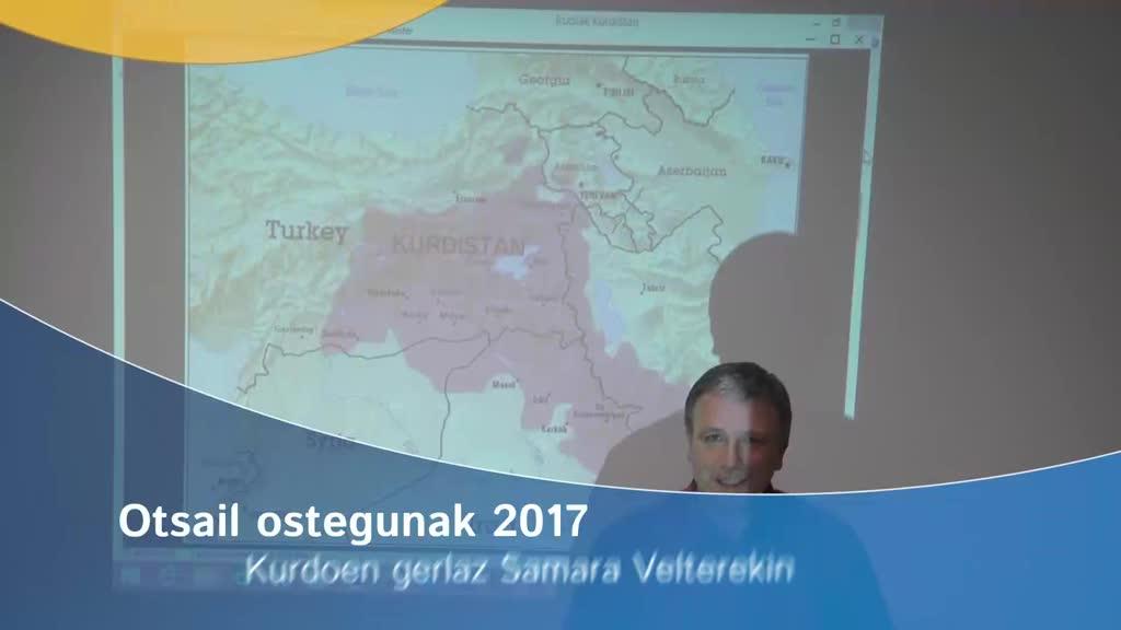 Otsail ostegunak 2017: Kurdoen gerlaz Samara Velterekin