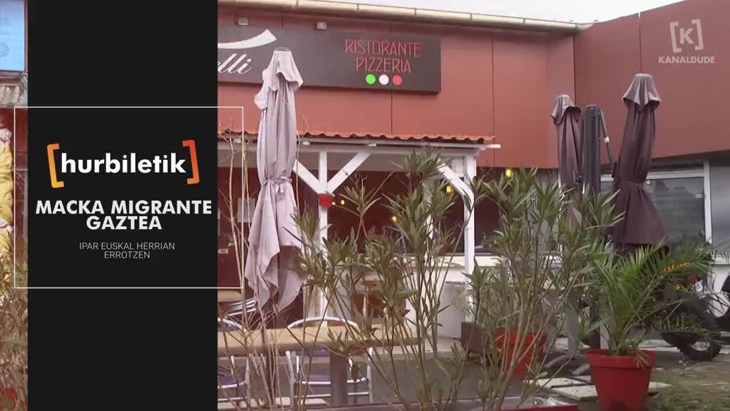 Macka migrante gaztea, Ipar Euskal Herrian errotzen