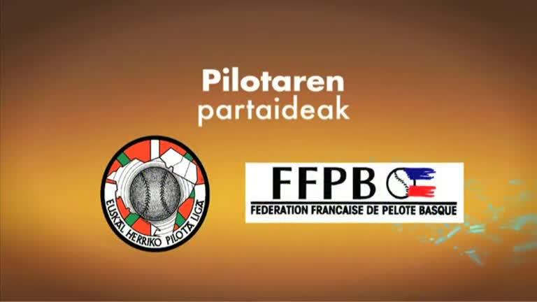 PILOTA esku huska : EH-ko Ligako finala helduen mailan 2011