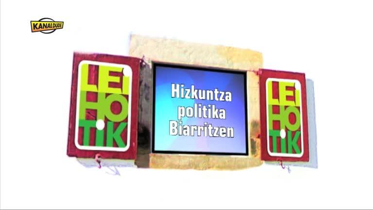 Hizkuntza politika Biarritzen (Deiadar 2012)