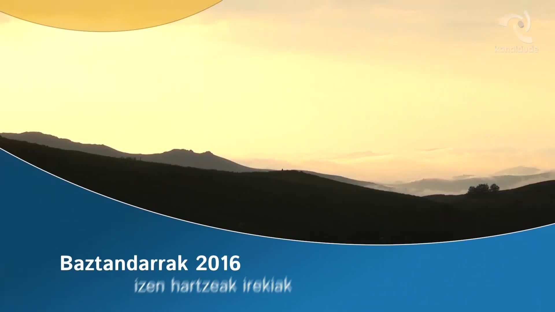 Baztandarrak 2016: izen hartzeak irekiak
