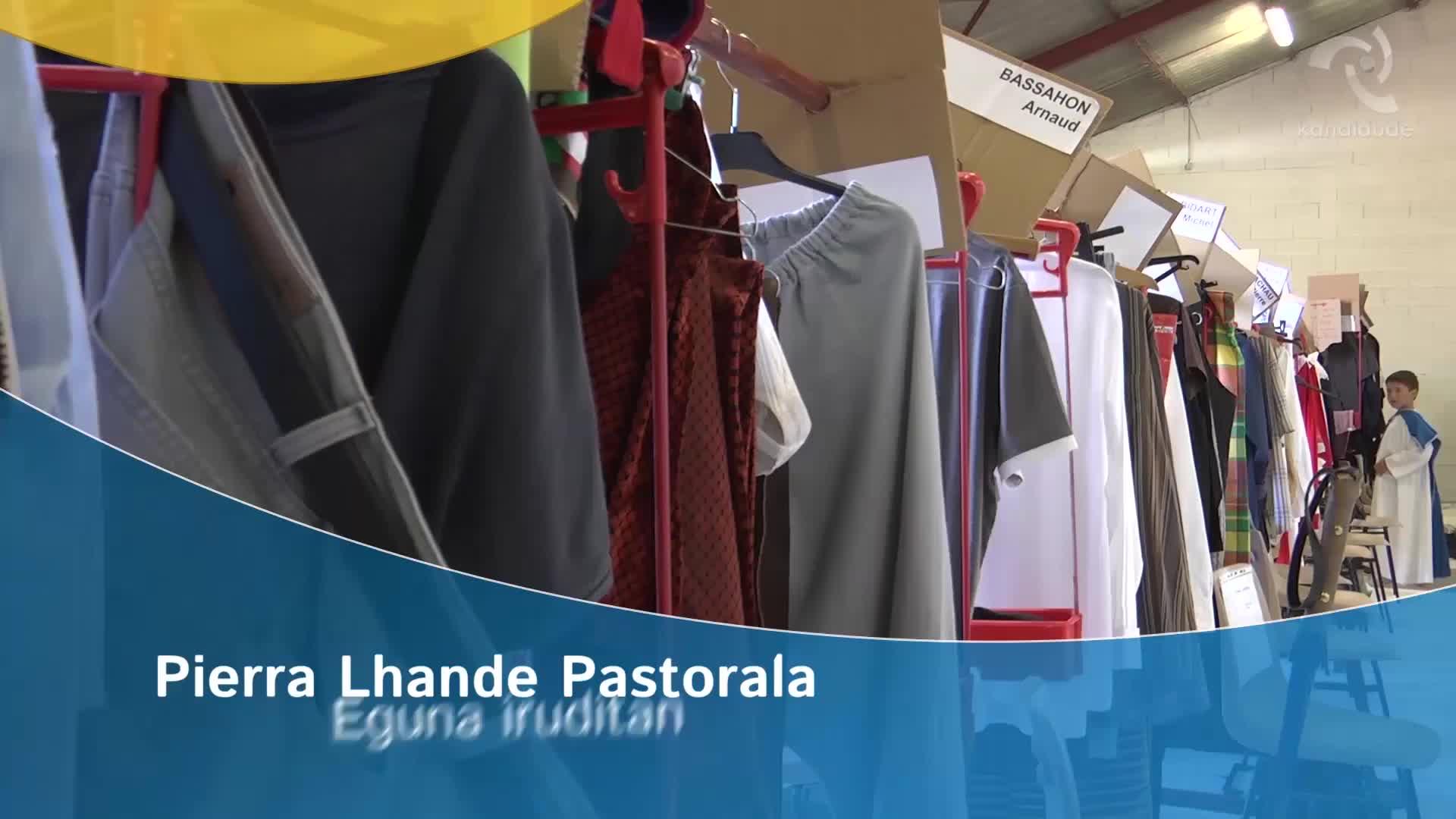 Pierra Lhande pastorala iruditan