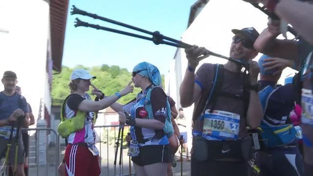 EUSKAL TRAILS 2019 - Trail gourmand, larunbateko 3. abiatzea (Mannequin Challenge)