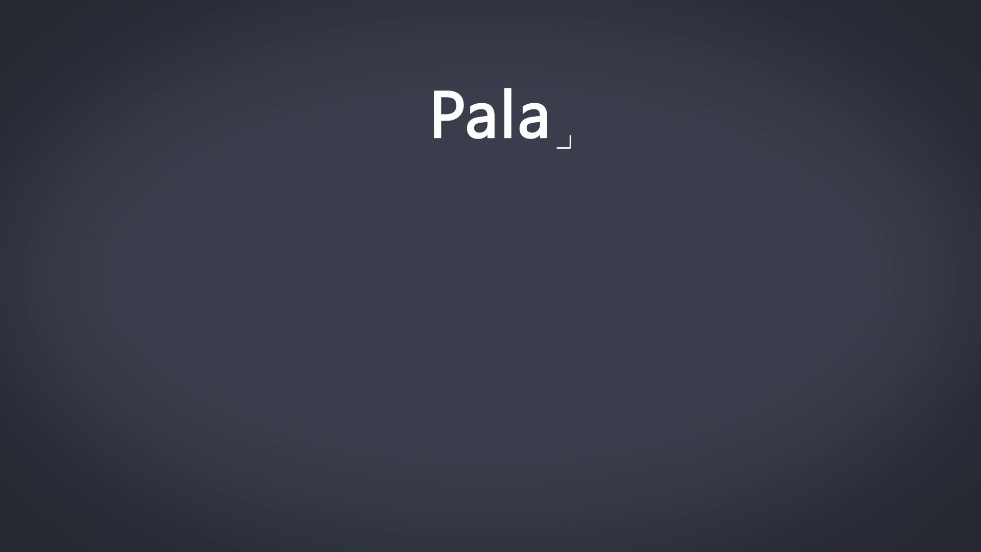 Tutoriala: Pala